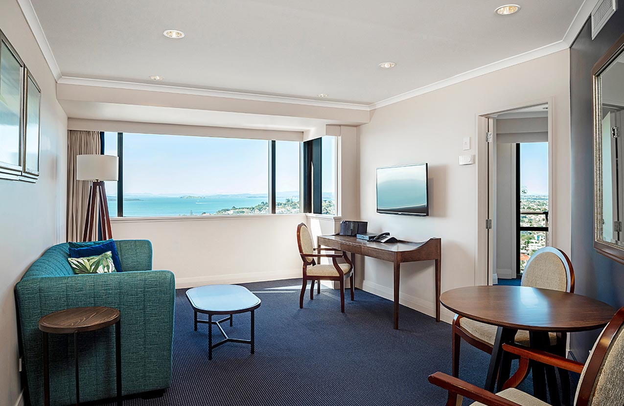One Bed Suite With Balcony With View Lounge
