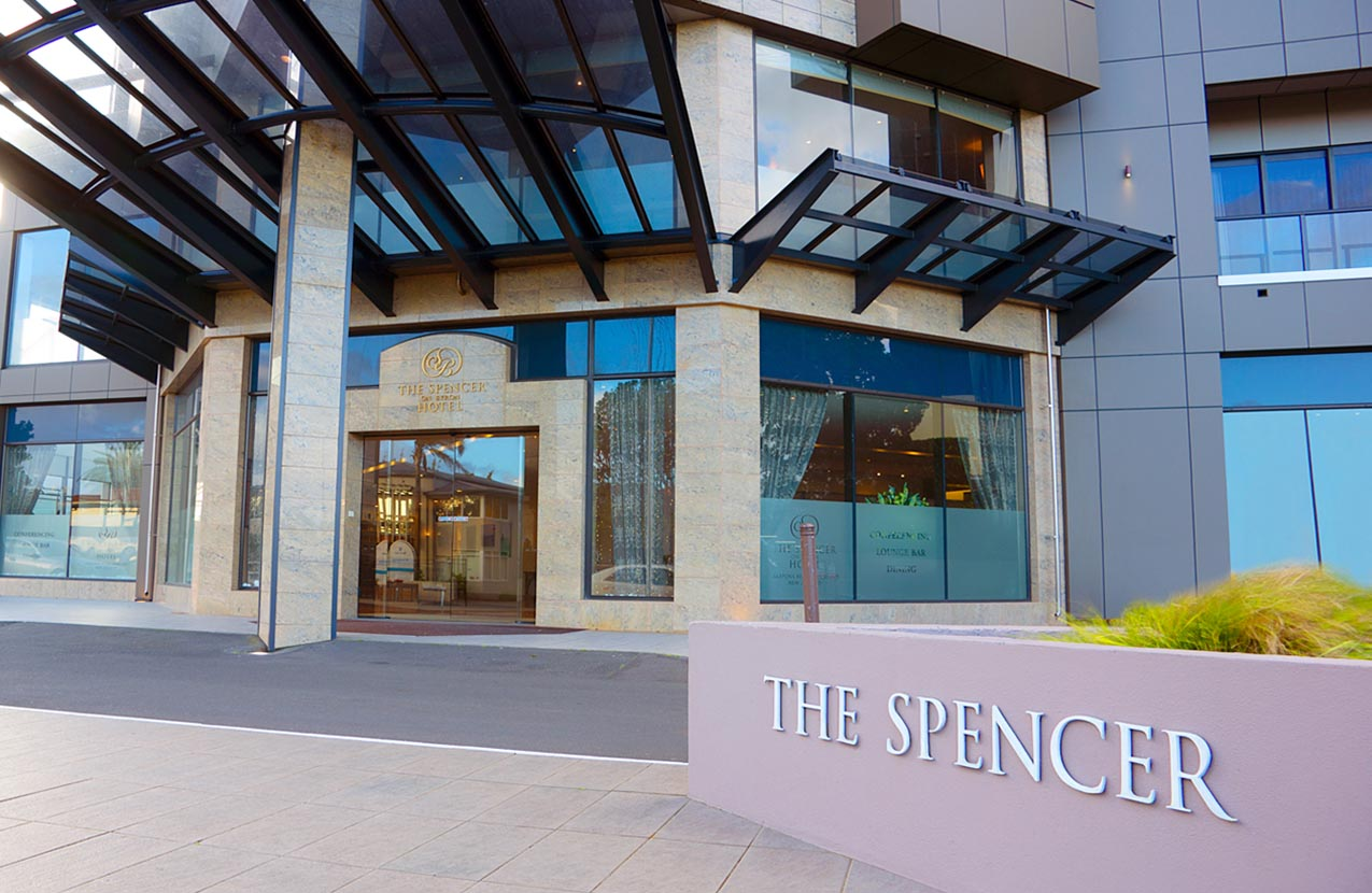 Spencer Hotel Accessible Entrance