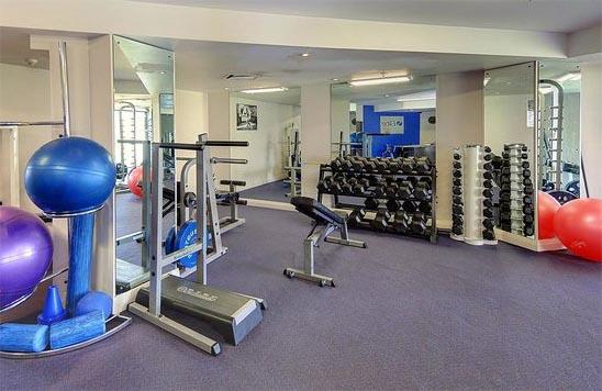 Spencer Hotel Gym